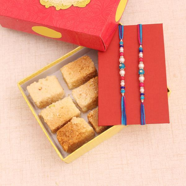 Alluring Rakhi Gifts - Send Flowers to India