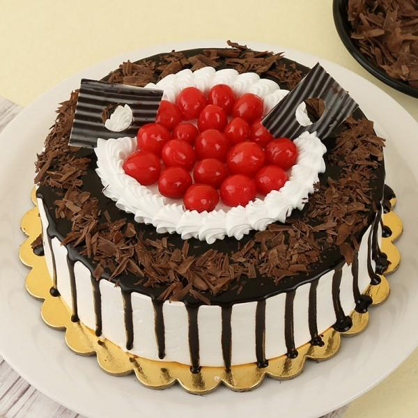 Ambrosial Cherry Fantasy - from Best Flower Delivery in Category Cakes Birthday Cakes