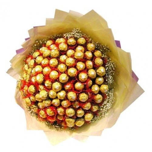 Awesome Ferrero Rocher Love - for Midnight Flower Delivery in Above Rs 2000