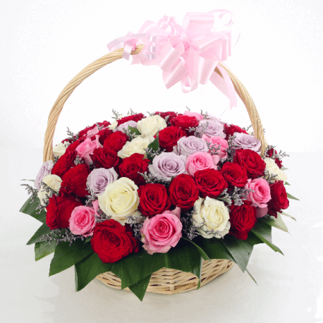 Basket Of Joy - for Flower Delivery in India