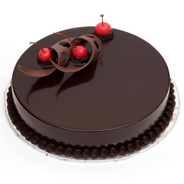 Belgian Chocolate Cake - for Midnight Flower Delivery in Category Cakes Birthday Cakes