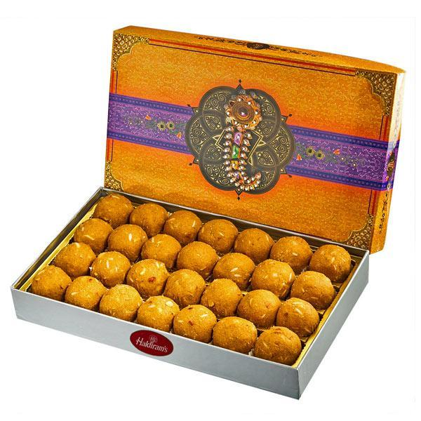 Half KG Besan Ladoo - from Best Flower Delivery in India