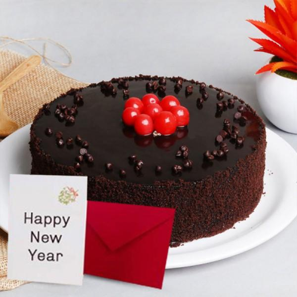 Best Cake For New Year - for Midnight Flower Delivery in Category | Cakes | New Year Cakes