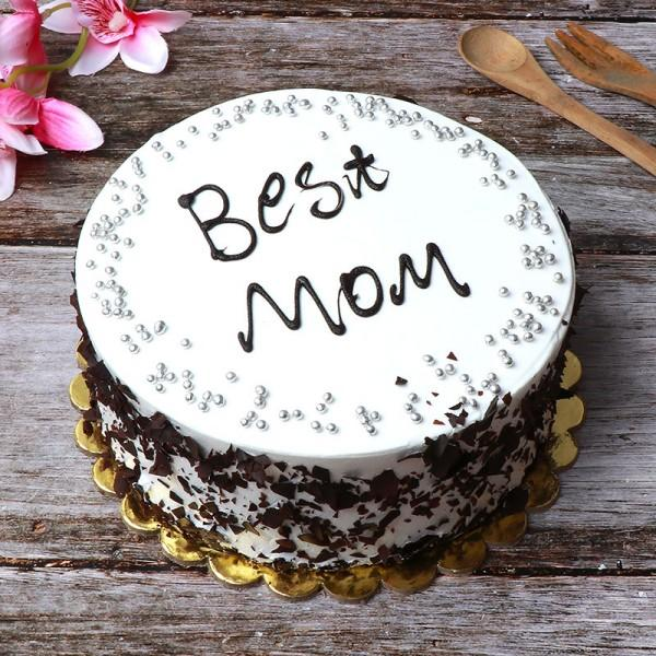 Best Mom Black Forest Cake - for Online Flower Delivery In Category Cakes Birthday Cakes