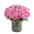 Big Pink Hug-45 Pink Roses- - for Online Flower Delivery In India -Product Details: 45 Pink Roses Vase Seasonal Fillers To admire or appreciate someone for thier success and achievements, this is the best option with 75 fresh pink roses nicely placed inside the vase for more encouragement and motivation. So encourage special ones in your life by gifting lovely flowers.   While we always strive to ensure that products are accurately represented in our photographs, from season to season and subject to availability, our florists may be required to substitute one or more flowers for a variety of equal or greater quality, appearance and value.