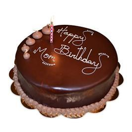 Birthday Chocolate cake half kg - for Online Flower Delivery In India