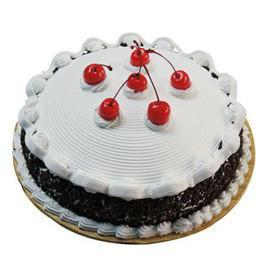 Black Forest Cake - for Midnight Flower Delivery in India