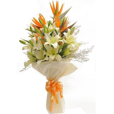 White Paradise - from Best Flower Delivery in India