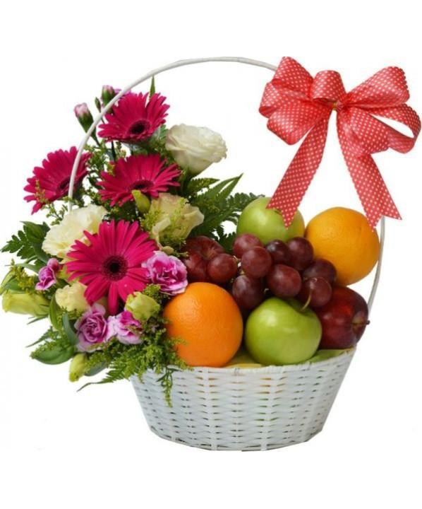 Basketful Surprises - from Best Flower Delivery in India