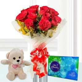 Celebrations Combo - for Flower Delivery in Occasion Gifts Christmas