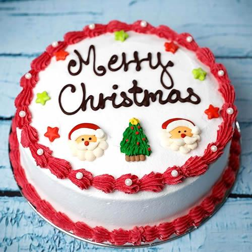 Cherry Christmas Cake - for Online Flower Delivery In India