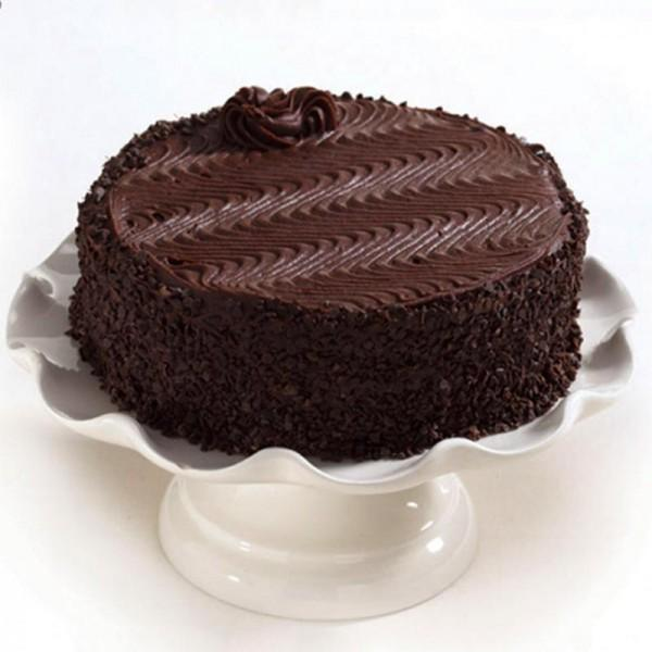Choco Chips Swirl Cake - for Midnight Flower Delivery in India