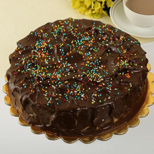 Choco Fudge Rainbow Cake - from Best Flower Delivery in India