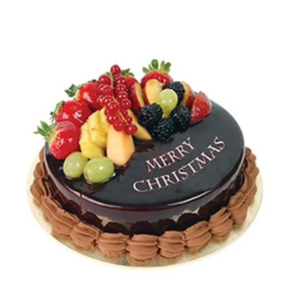 Chocolate Christmas Cake - from Best Flower Delivery in India