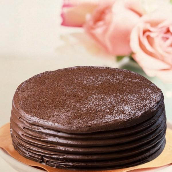 Chocolate Mud Cake - for Flower Delivery in India