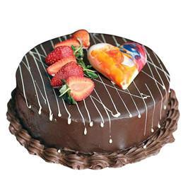 Choco Strawberry cake Half kg - from Best Flower Delivery in India