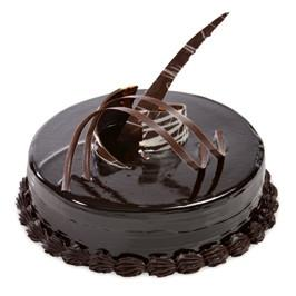 Chocolate Truffle Cake 1 Kg - for Midnight Flower Delivery in India