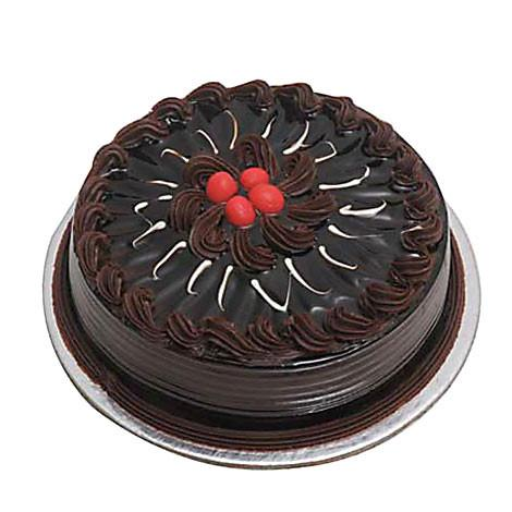 Special Chocolate Truffle Cake - Send Flowers to Category Cakes Birthday Cakes