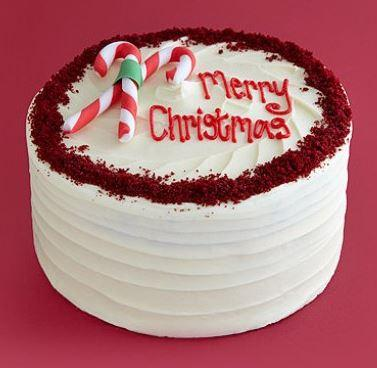 Christmas Birthday Cake - for Flower Delivery in India