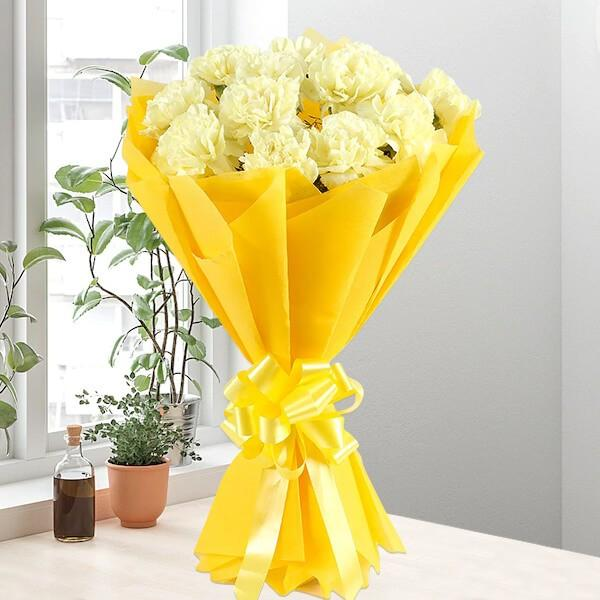 Classic Yellow Sunshine - for Flower Delivery in India