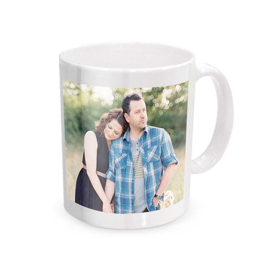 Personalized Photo Mug - for Midnight Flower Delivery in India