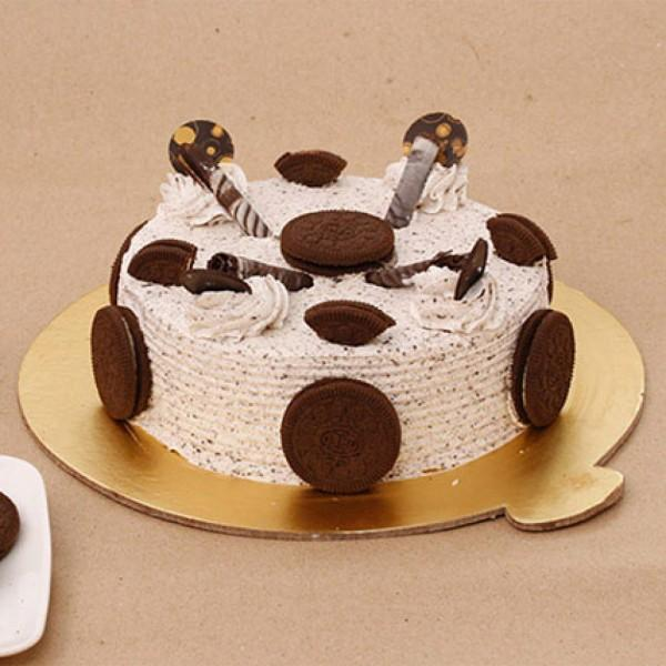 Crunchy Oreo Birthday Cake - for Online Flower Delivery In Category Cakes Birthday Cakes