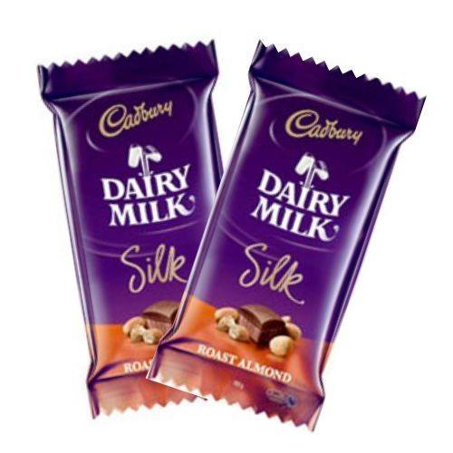 2 Dairy Milk Silk - for Midnight Flower Delivery in India
