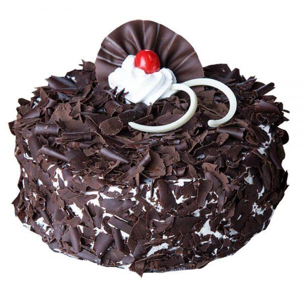 Dark Cherry Forest Cake - for Flower Delivery in India