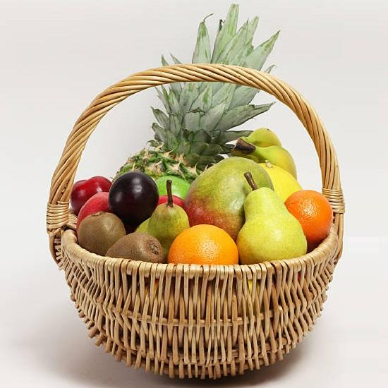 Delightful Fruit Basket - for Flower Delivery in India