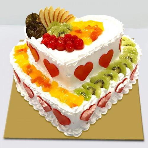 Double Layer Fruit Premium - for Online Flower Delivery In India