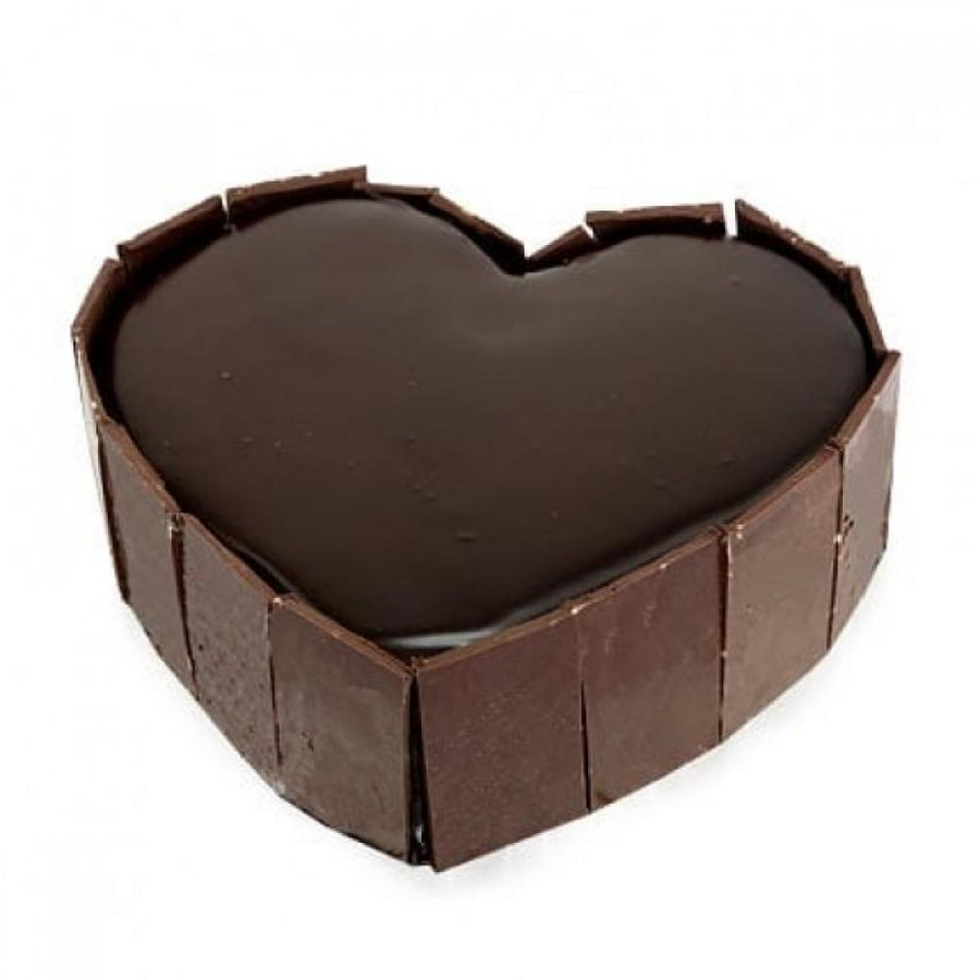 Exotic Chocolate Truffle Heart - Send Flowers to India