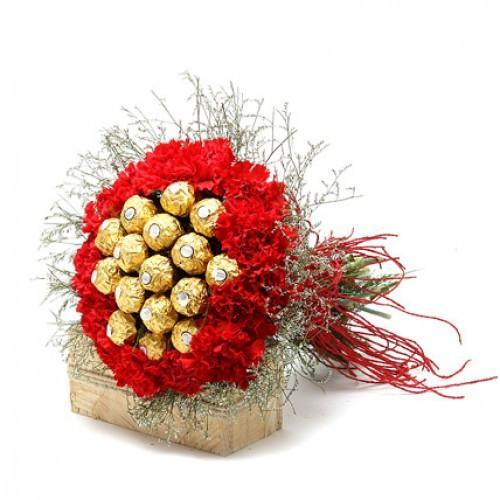 Ferrero Carnations Love - for Flower Delivery in India