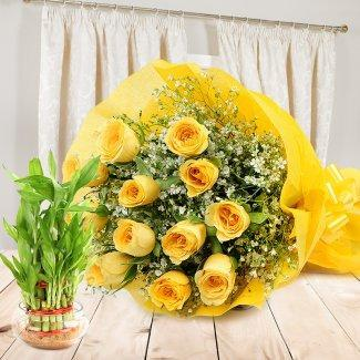 Friendly Felicitations - for Midnight Flower Delivery in Category | Flowers | Appreciation Flowers