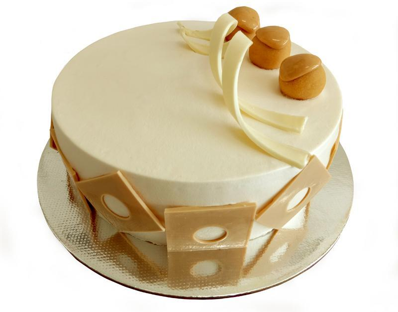 Fudgy Butterscotch Cake - for Flower Delivery in India