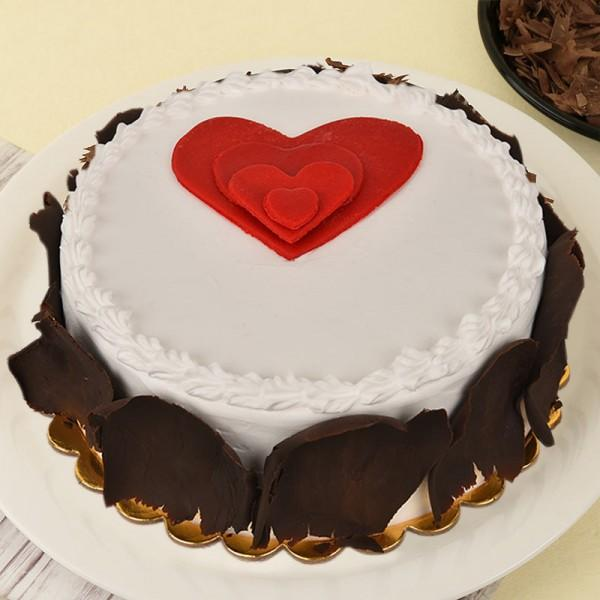 Hearty Forest Anniversary Cake - Send Flowers to India