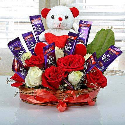 Hello Cutie - for Online Flower Delivery In India