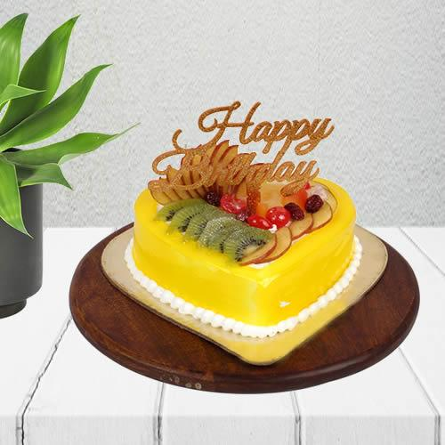 Juicy Fruit Birthday Cake