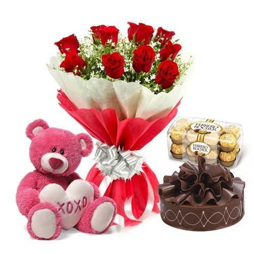 On Your Birthday - for Online Flower Delivery In India