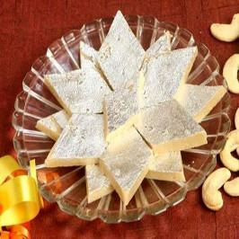 Kaju Barfi Half KG - for Flower Delivery in Dussehra