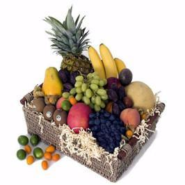 10 KG Big Fruit Basket - for Midnight Flower Delivery in Occasion Gifts Christmas