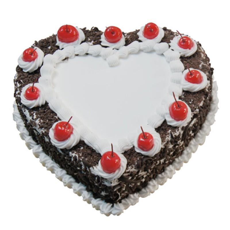 Love Forest Anniversary Cake - for Flower Delivery in India