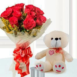 Loving Beauty - for Flower Delivery in Valentine Gifts For Girlfriend