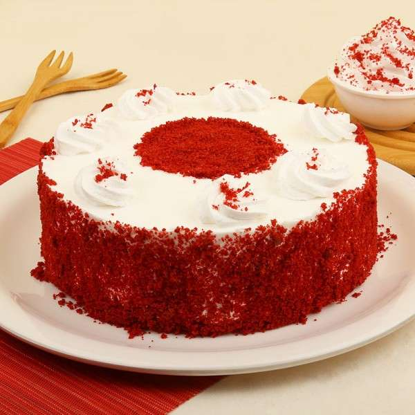 Magical Red Velvet Cake - for Flower Delivery in India