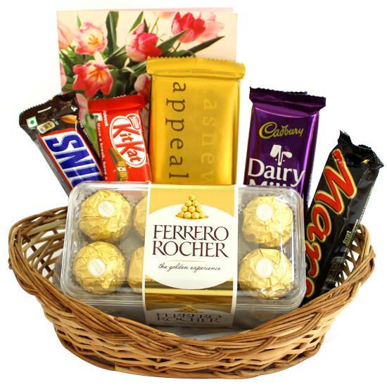 Mega  Choco Love Hamper - for Flower Delivery in India
