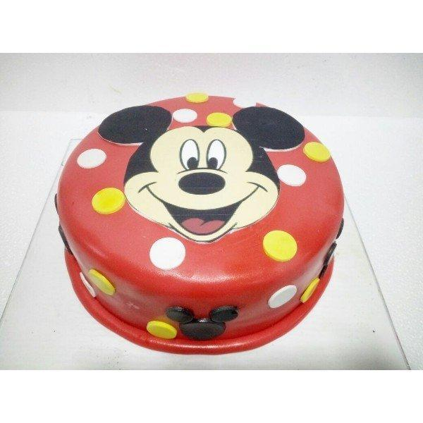 Mickey Mouse Cake - for Midnight Flower Delivery in India
