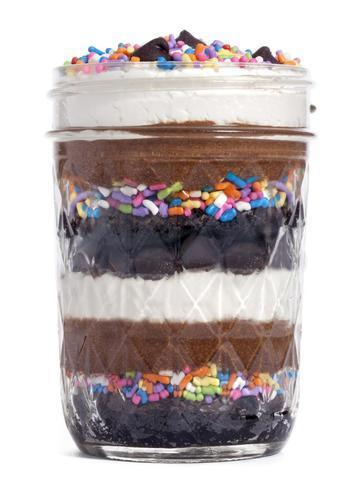 Multilayer Desert Jar Cake - for Online Flower Delivery In India