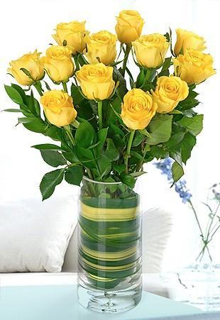 Yellow Roses Bouquet - Send Flowers to India