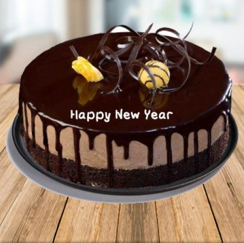New Year Cake 2021 - for Flower Delivery in India