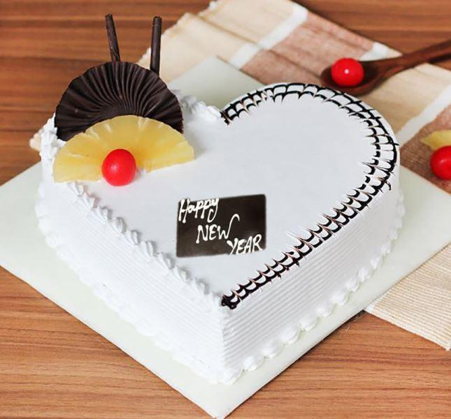New Year Cake - for Flower Delivery in India