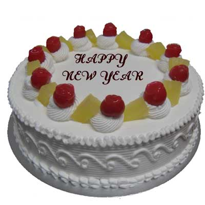 New Year Party Cake - from Best Flower Delivery in India